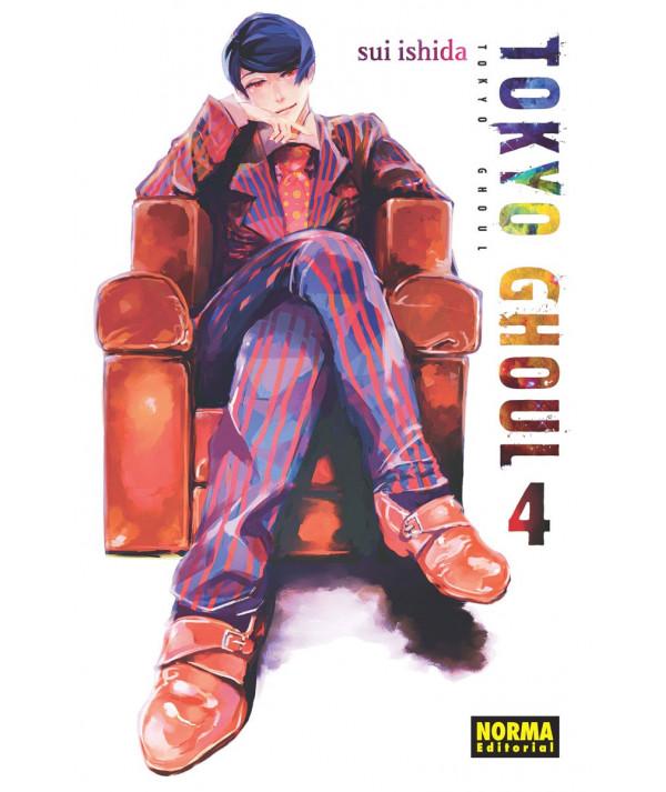 TOKYO GHOUL 4 Comic y Manga