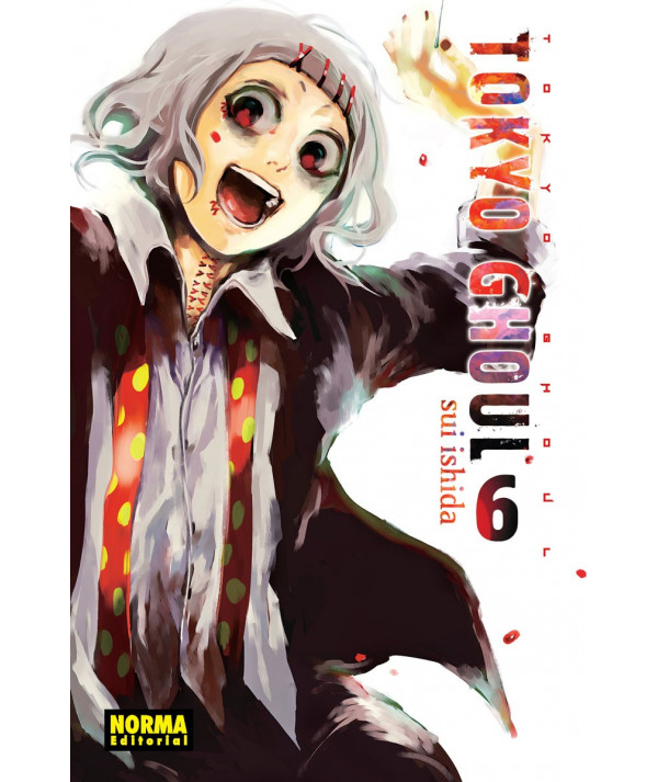 TOKYO GHOUL 6 Comic y Manga