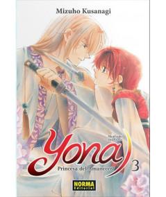 YONA, PRINCESA DEL AMANECER 3 Comic y Manga