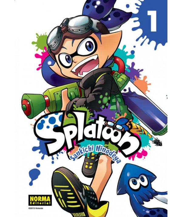 SPLATOON 1 Comic y Manga