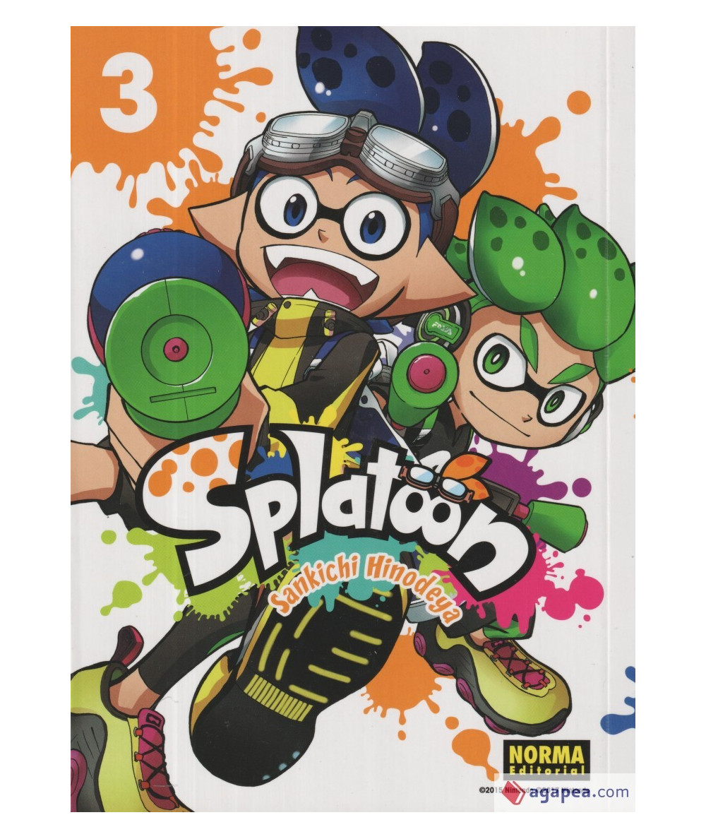 SPLATOON 3 Comic y Manga
