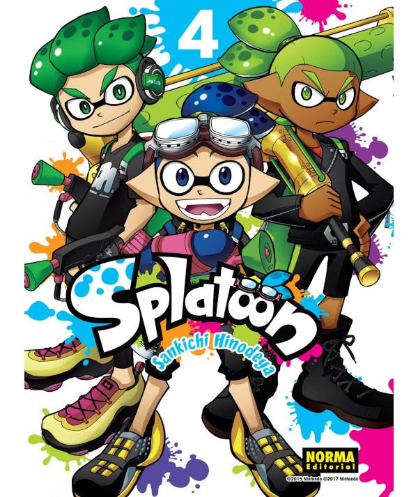 SPLATOON 4 Comic y Manga