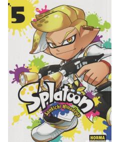 SPLATOON 5 Comic y Manga