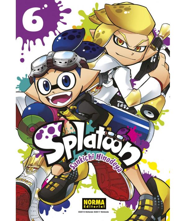SPLATOON 6 Comic y Manga