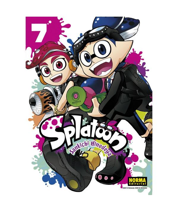 SPLATOON 7 Comic y Manga