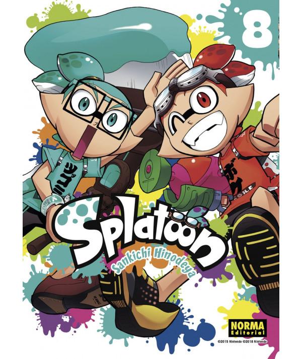 SPLATOON 8 Comic y Manga