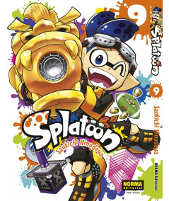 SPLATOON 9 Comic y Manga