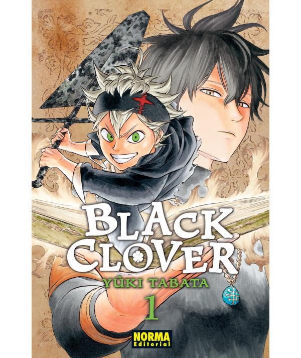 BLACK CLOVER 1 Comic y Manga