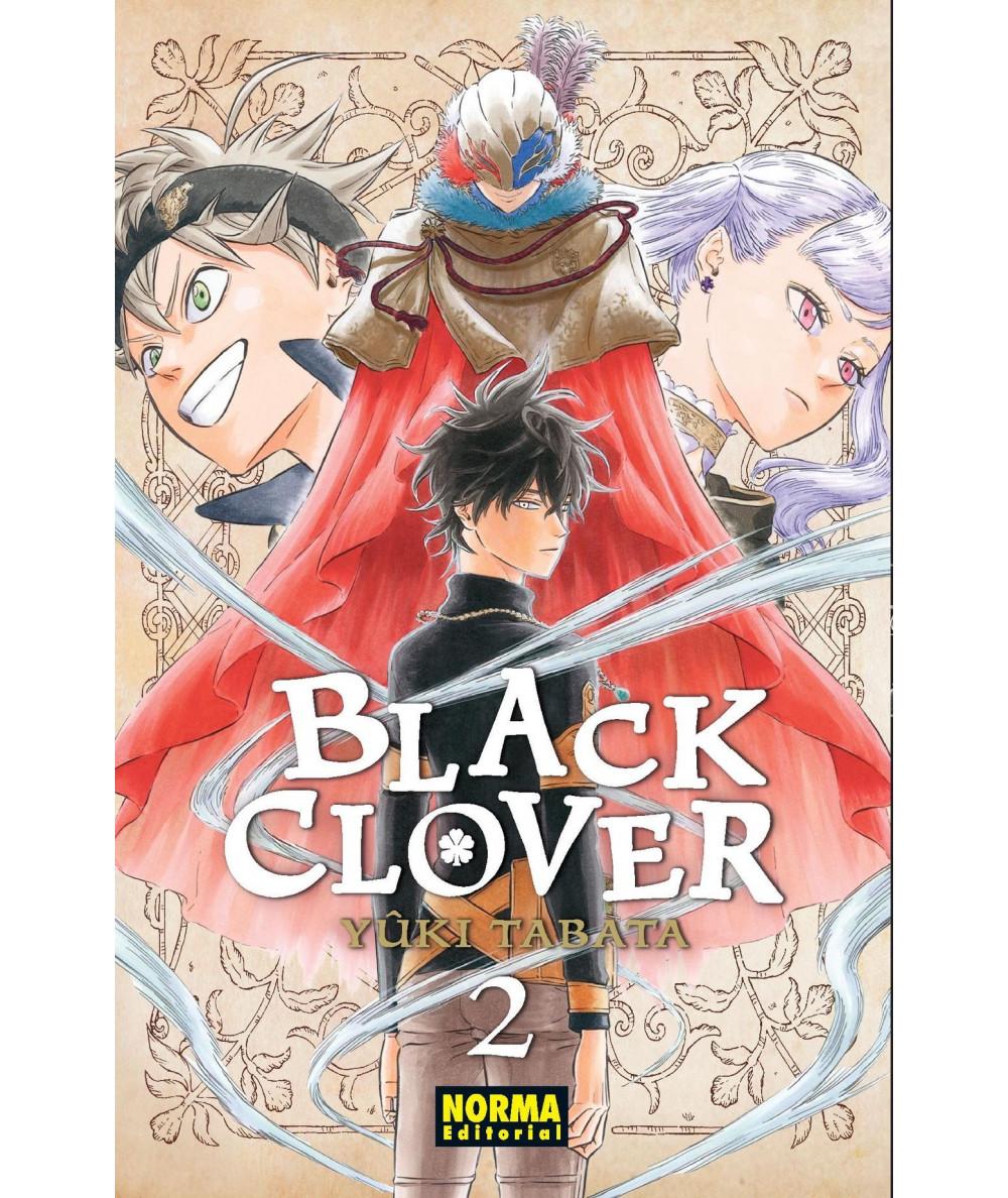 BLACK CLOVER 2 Comic y Manga