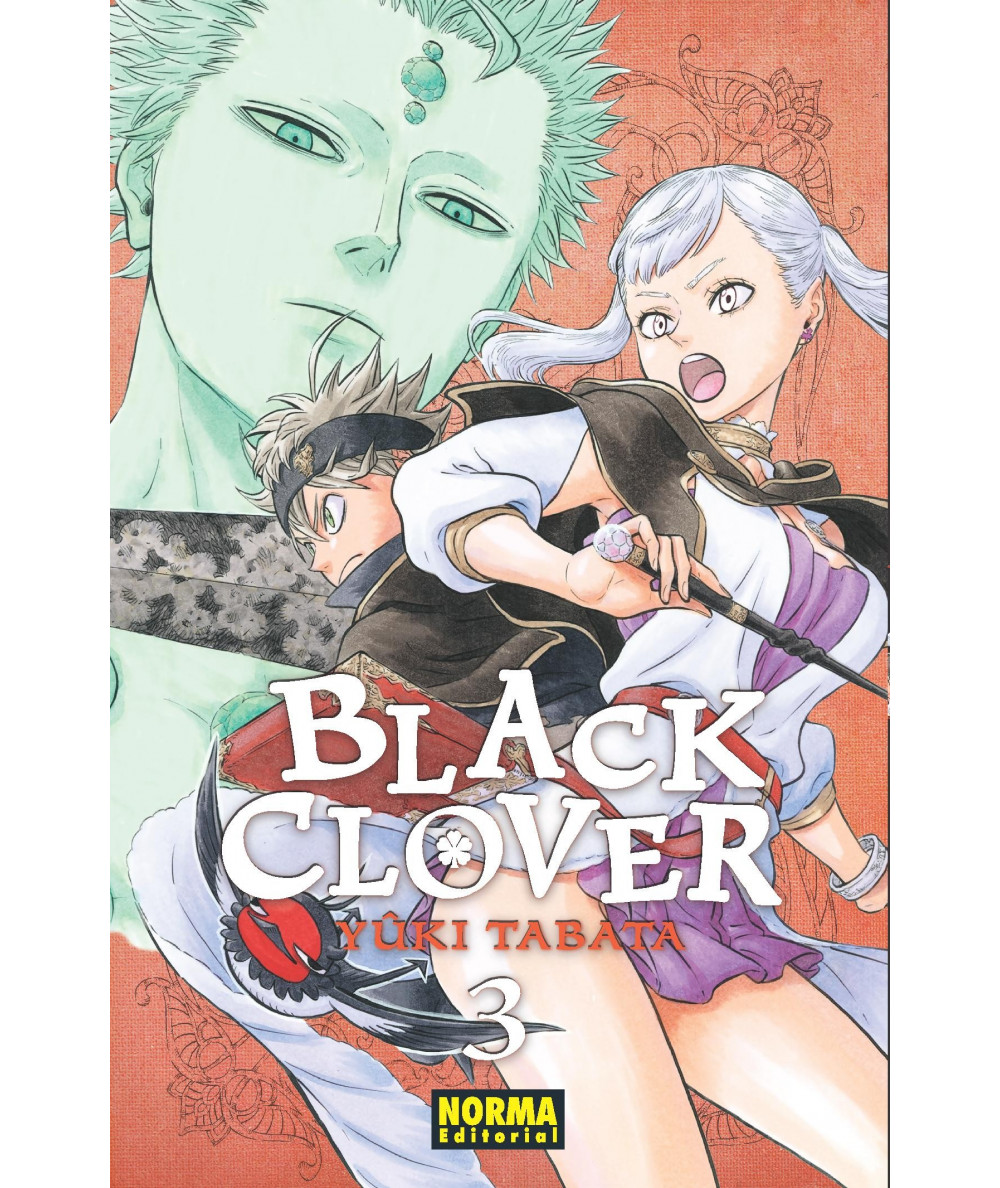 BLACK CLOVER 3 Comic y Manga