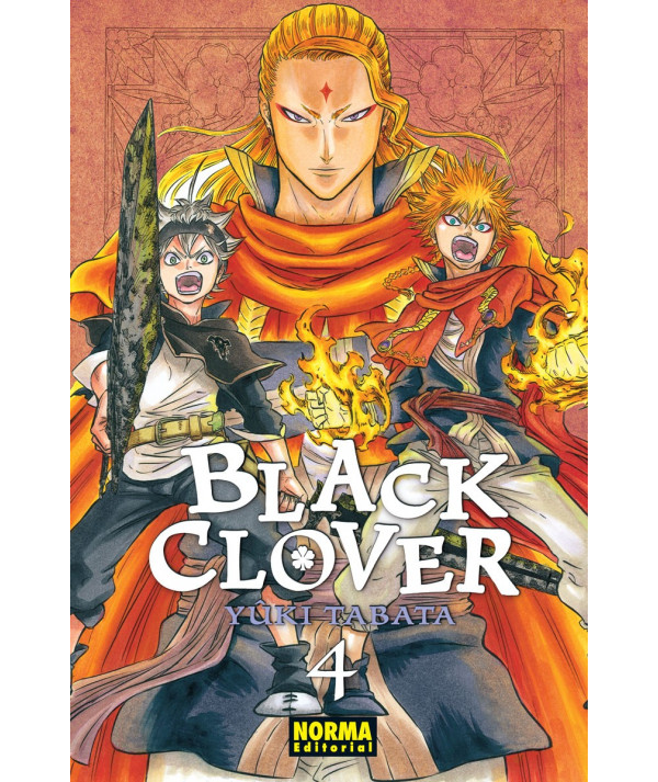 BLACK CLOVER 4 Comic y Manga