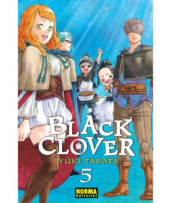 BLACK CLOVER 5 Comic y Manga