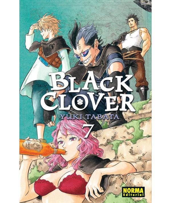 BLACK CLOVER 7 Comic y Manga