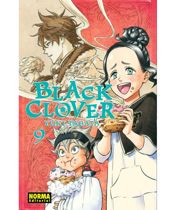 BLACK CLOVER 9 Comic y Manga