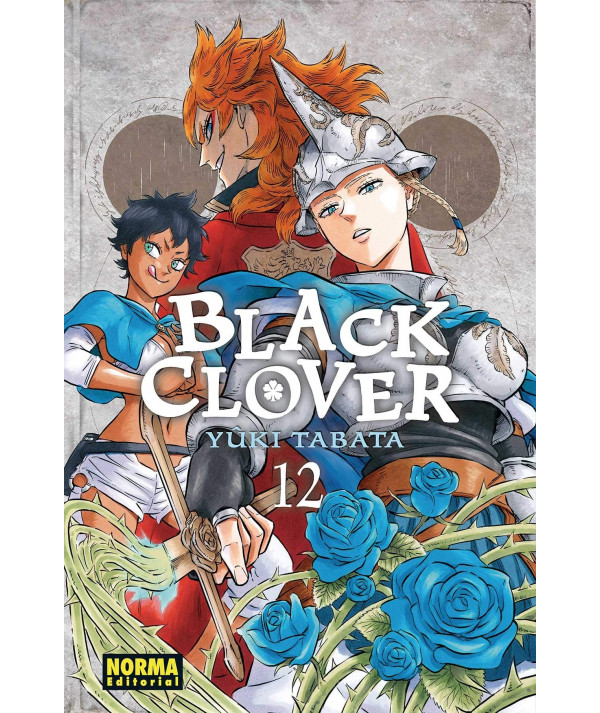 BLACK CLOVER 12 Comic y Manga