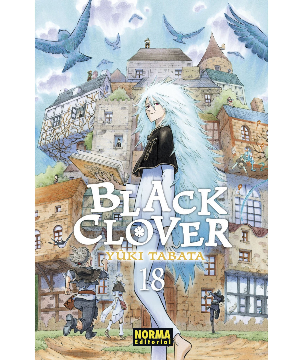 BLACK CLOVER 18 Comic y Manga