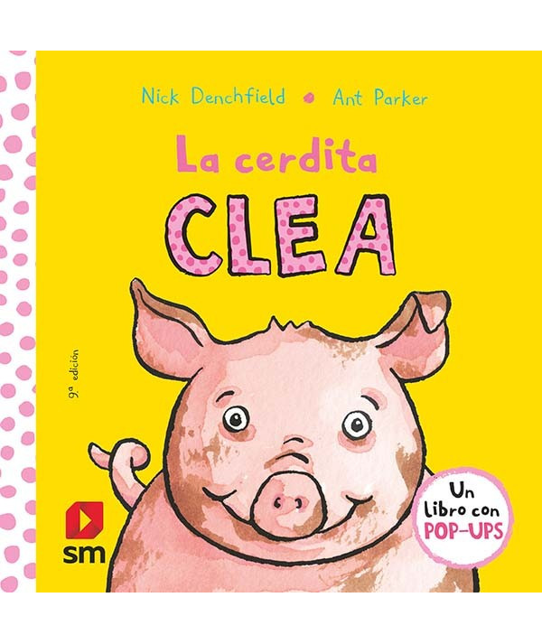 PACK LA CERDITA CLEA + PELUCHE Infantil