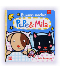 PACK DE BUENAS NOCHES, PEPE Y MILA (CON MUÑECO DE PEPE EN PIJAMA) Infantil