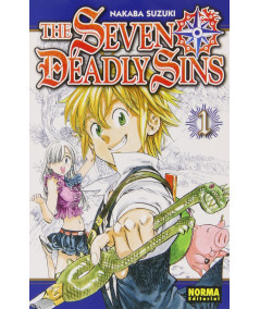 THE SEVEN DEADLY SINS 1 Comic y Manga