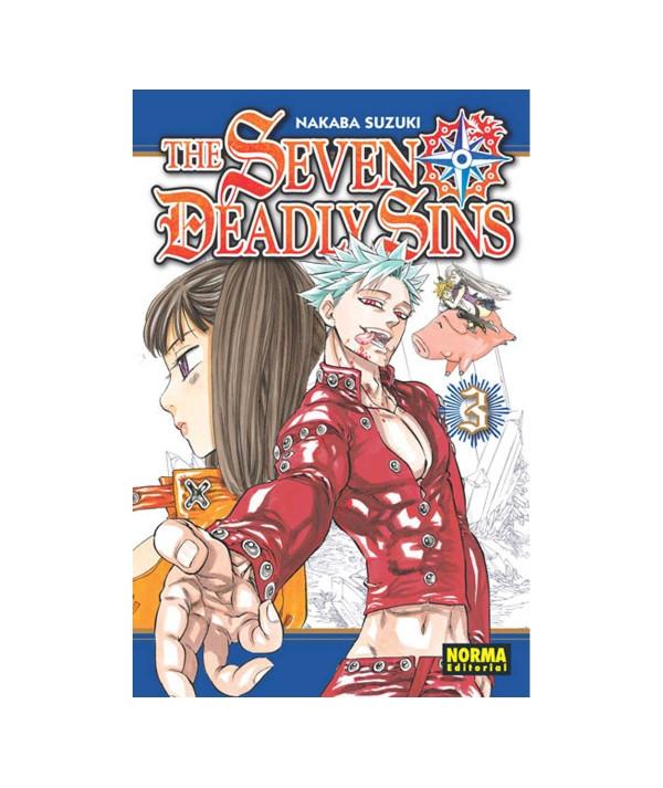 THE SEVEN DEADLY SINS 3 Comic y Manga