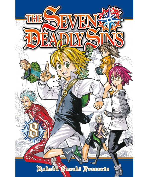 THE SEVEN DEADLY SINS 8 Comic y Manga