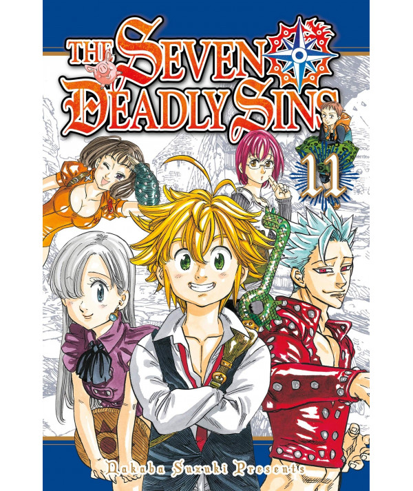 THE SEVEN DEADLY SINS 11 Comic y Manga