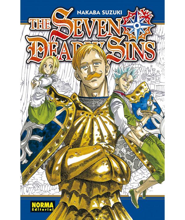 THE SEVEN DEADLY SINS 20 Comic y Manga