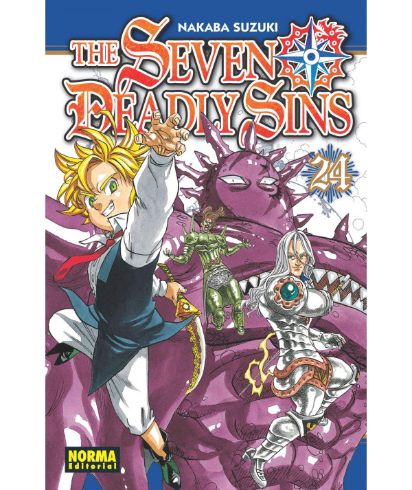 THE SEVEN DEADLY SINS 24 Comic y Manga