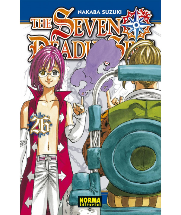 THE SEVEN DEADLY SINS 26 Comic y Manga