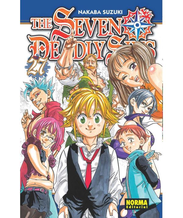 THE SEVEN DEADLY SINS 27 Comic y Manga