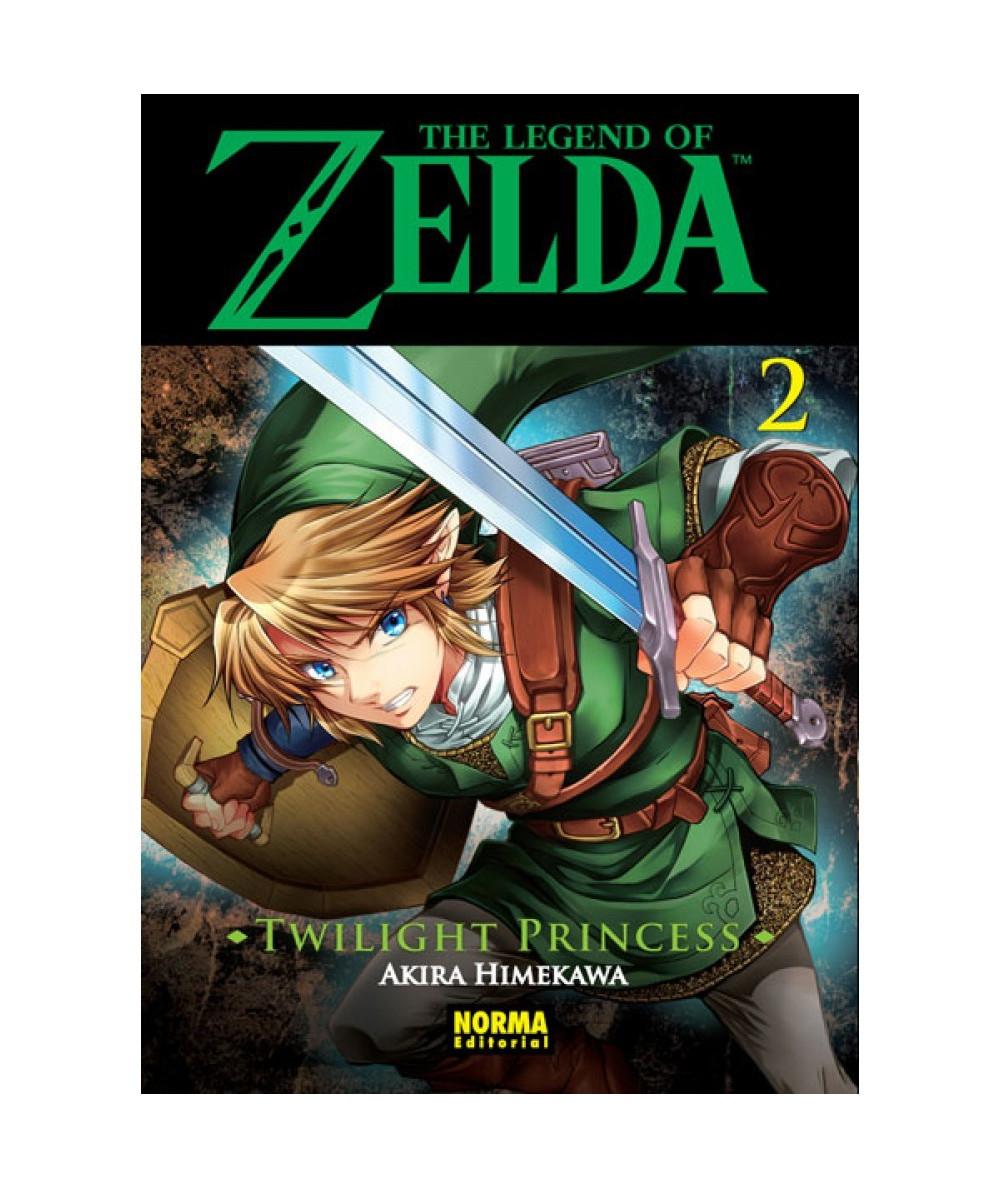 THE LEGEND OF ZELDA. TWILIGHT PRINCESS 2 Comic y Manga