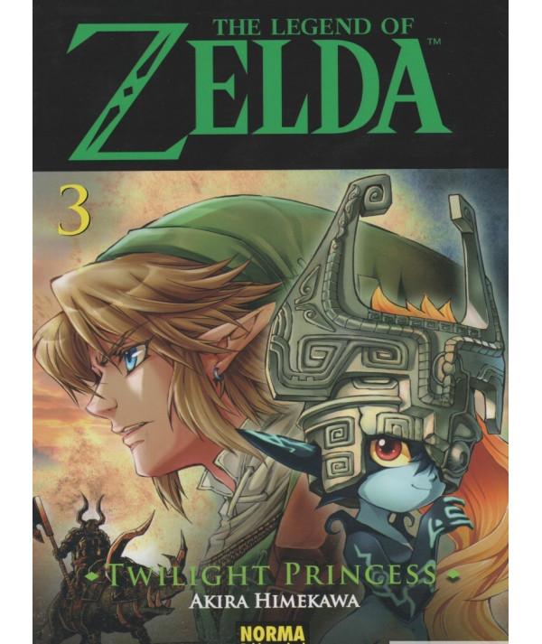 THE LEGEND OF ZELDA. TWILIGHT PRINCESS 3 Comic y Manga