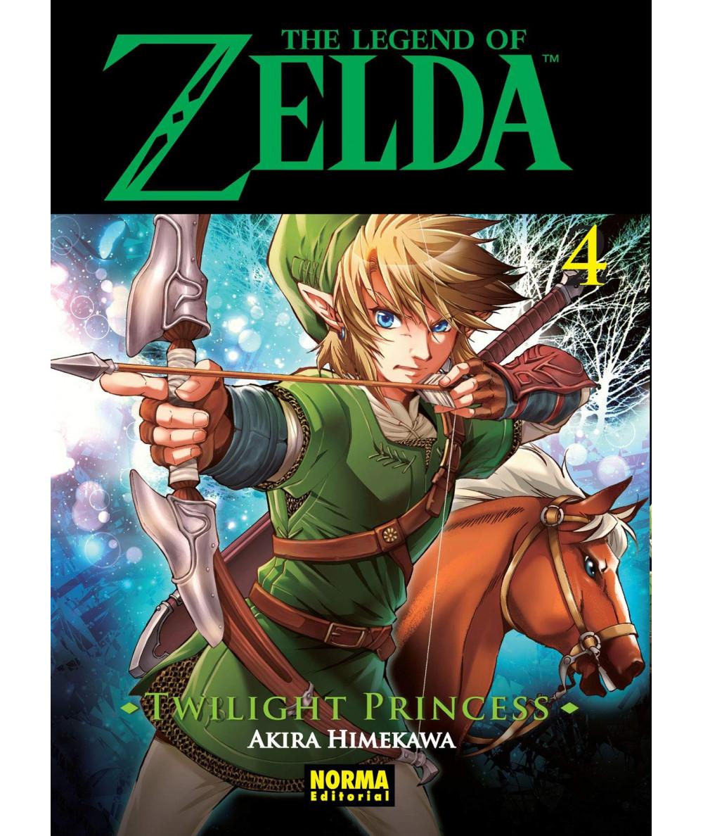 THE LEGEND OF ZELDA. TWILIGHT PRINCESS 4 Comic y Manga
