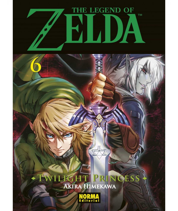 THE LEGEND OF ZELDA. TWILIGHT PRINCESS 6 Comic y Manga