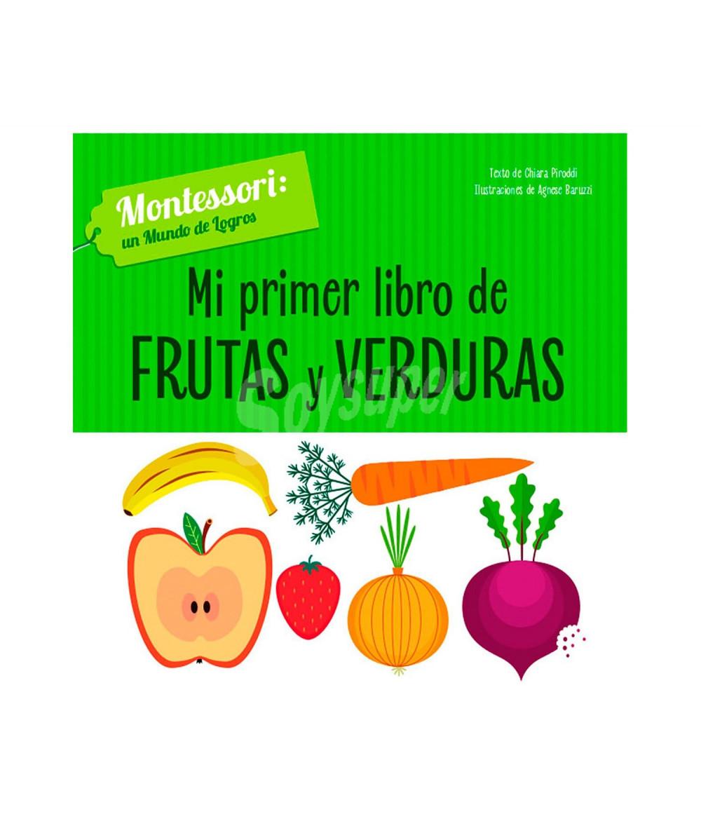 MI PRIMER LIBRO DE FRUTAS Y VERDURAS Infantil