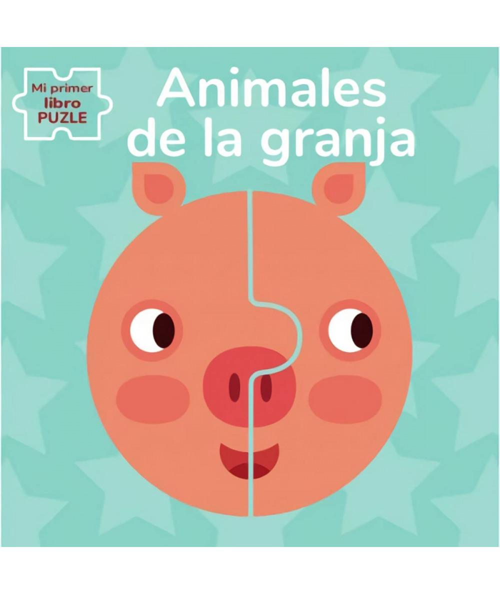 ANIMALES DE GRANJA. MI PRIMER LIBRO PUZLE Infantil