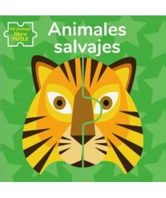 ANIMALES SALVAJES. MI PRIMER LIBRO PUZLE Infantil