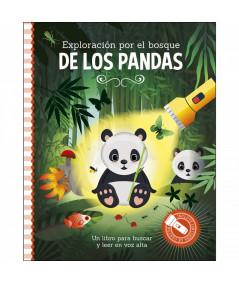 LIBRO LINTERNA. Exploración por el bosque de los pandas Infantil