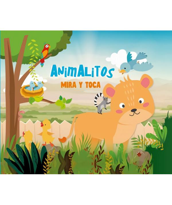 ANIMALITOS MIRA Y TOCA Infantil