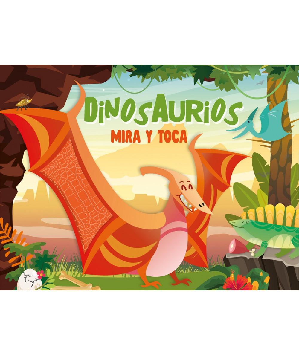 DINOSAURIOS MIRA Y TOCA Infantil