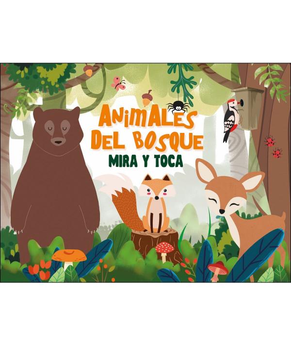 ANIMALES DEL BOSQUE MIRA Y TOCA Infantil