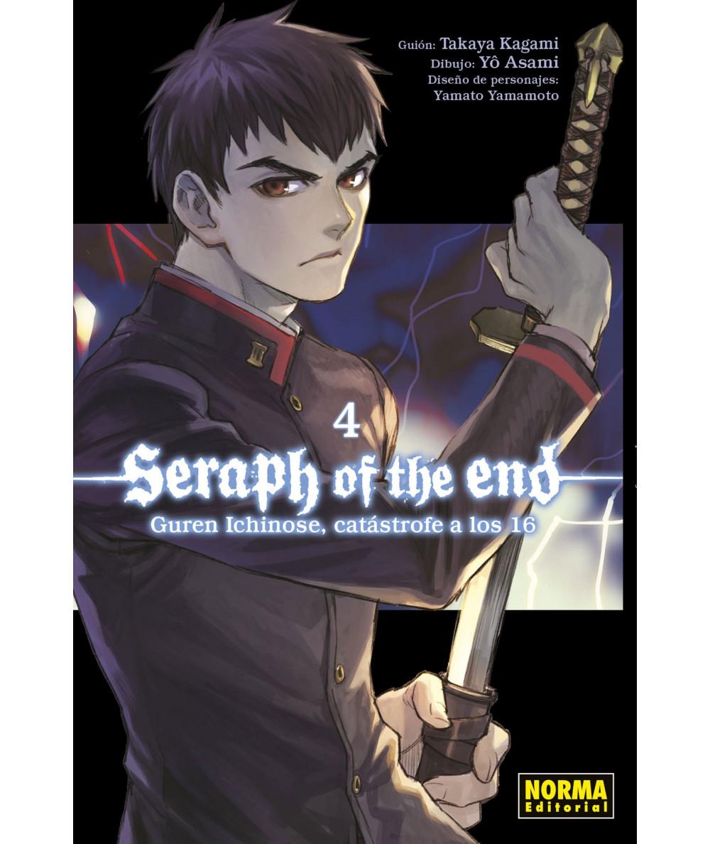 SERAPH OF THE END 4. GUREN ICHINOSE, CATASTROFE A LOS 16 Comic y Manga