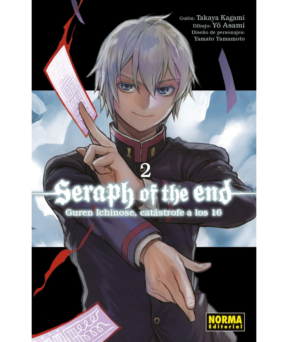 SERAPH OF THE END 2: GUREN ICHINOSE, CATÁSTROFE A LOS DIECISÉIS Comic y Manga