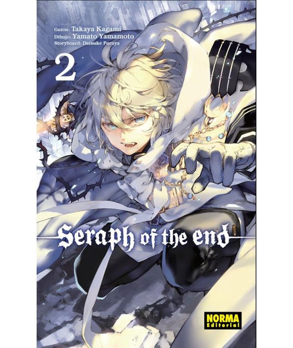 SERAPH OF THE END 2 Comic y Manga