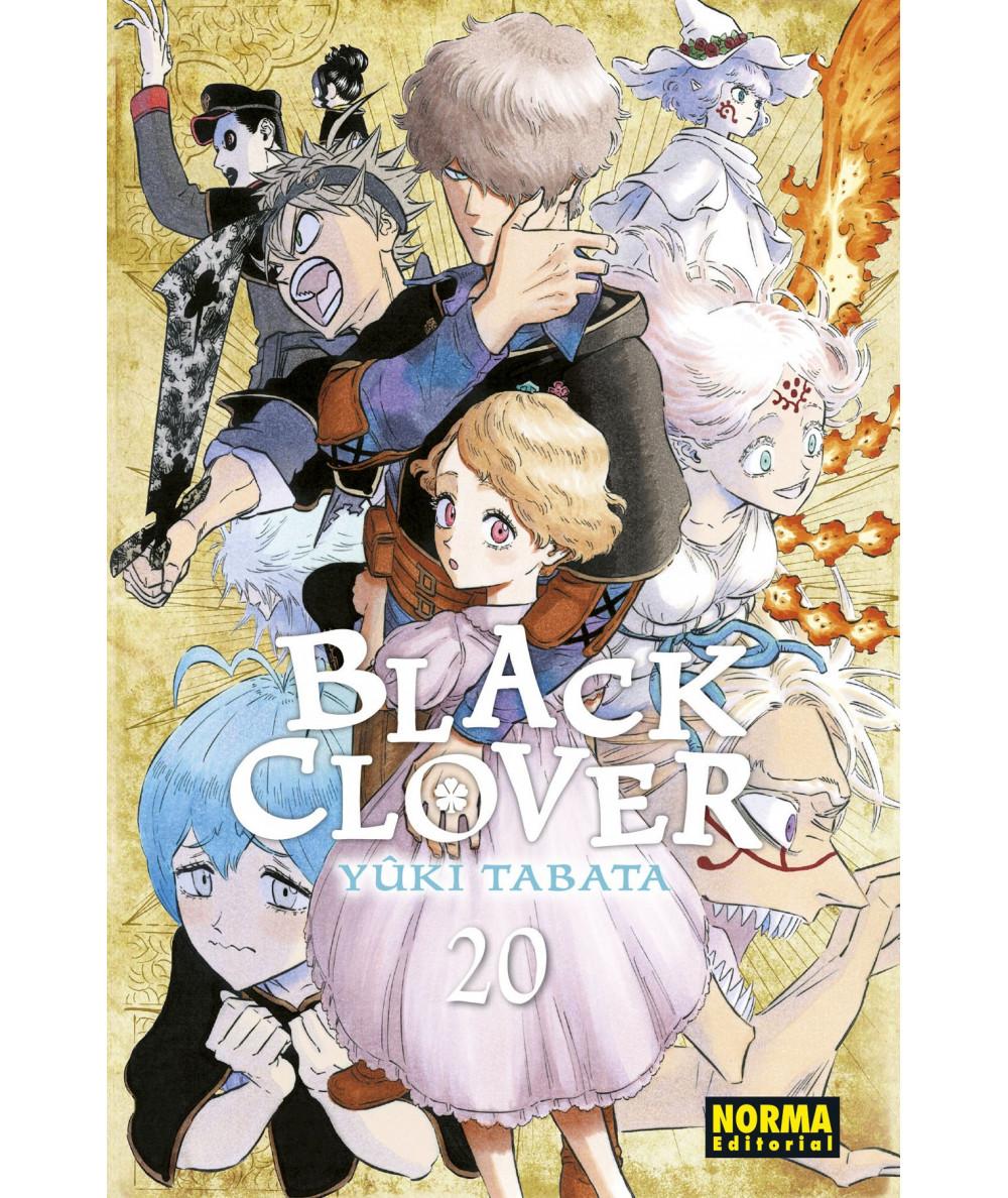 BLACK CLOVER 20 Comic y Manga
