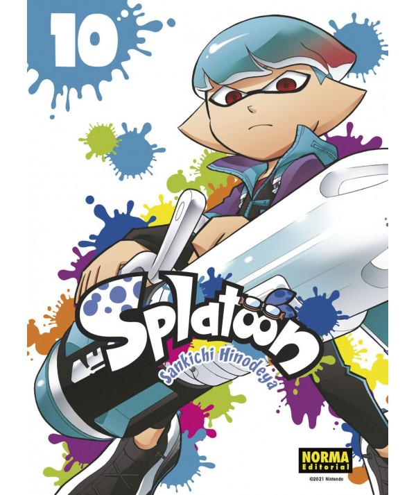 SPLATOON 10 Comic y Manga