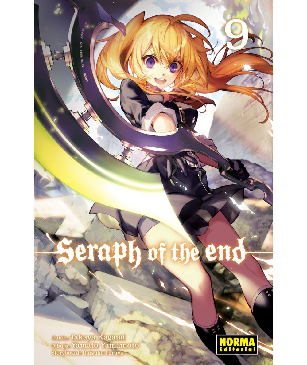 SERAPH OF THE END 9 Comic y Manga