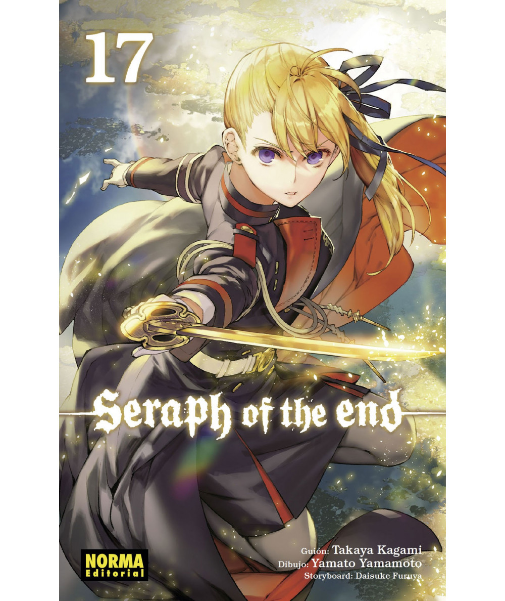 SERAPH OF THE END 17 Comic y Manga