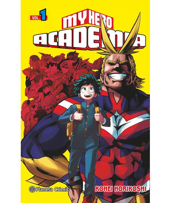 MY HERO ACADEMIA Comic y Manga