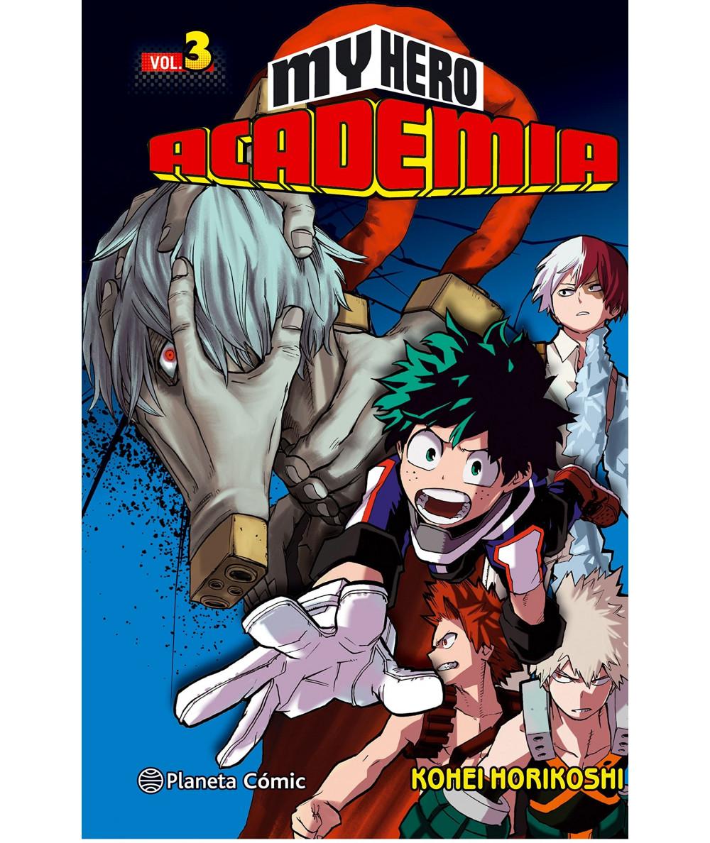 MY HERO ACADEMIA 3 Comic y Manga
